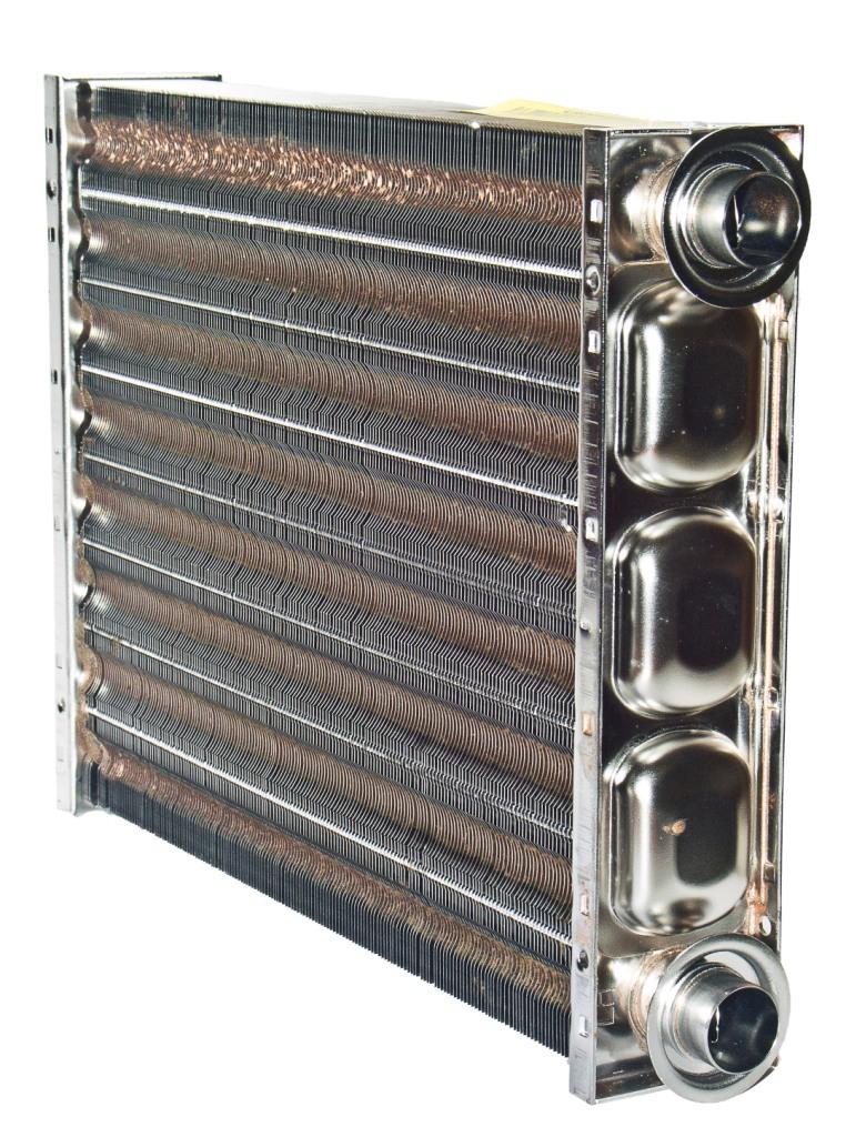 Первичный теплообменник газового котла водяные теплообменники цена