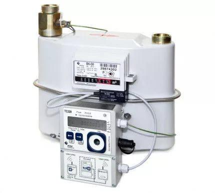 Измерительный комплекс (узел учета) газа ВК G16 + TC215 (СГ-ТК-Д-25) Ду32 Ду40 К